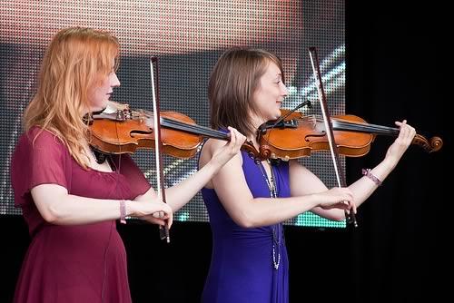 Shona Mooney and Olivia Ross